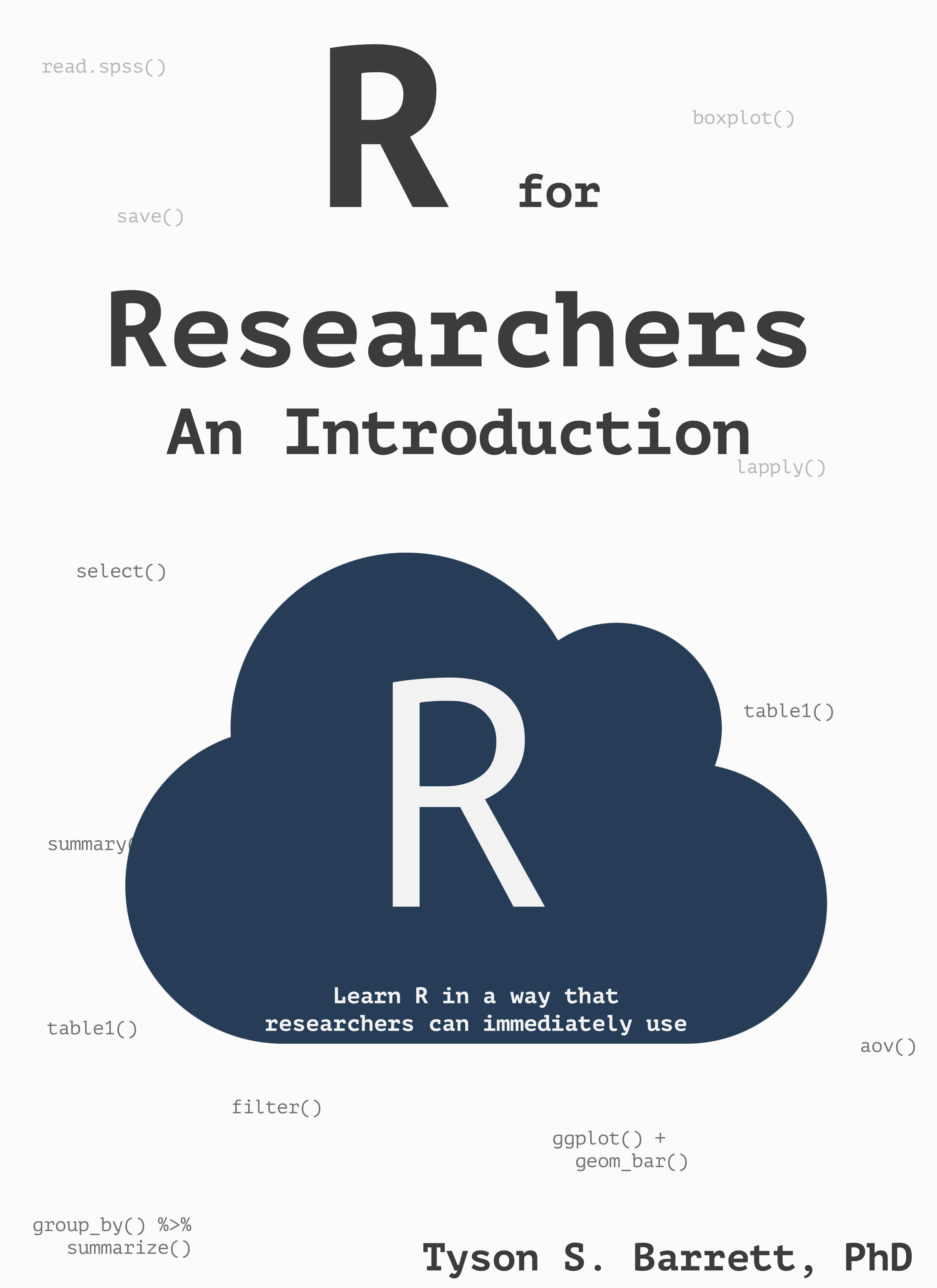 R For The Health Behavioral And Social Sciences Tysonbarrett